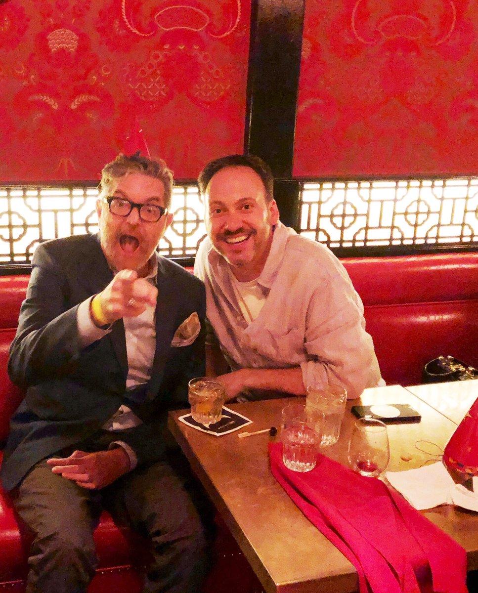 Happy birthday to @stephenscaia ! My dear friend, long time collaborator & International drinking buddy🥃🎂🎉🎉