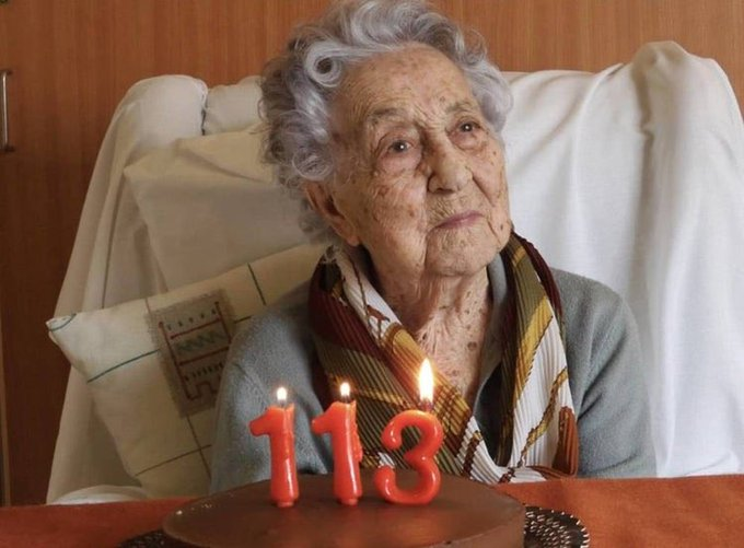 Spain's Oldest Woman Beats Coronavirus at 113