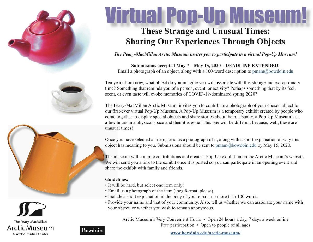We've extended our deadline! Don't miss this chance to share your story!   #popupmuseum #museumfromhome #socialdistancing #bowdoinpic.twitter.com/FcqcTXA2at