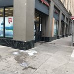 Image for the Tweet beginning: Before/After  Sidewalk mess begone! 🧹🏙️ #TheEastCut