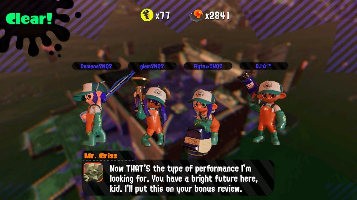 First win as a profreshional!! #Splatoon2 #NintendoSwitch @NintendoQueens