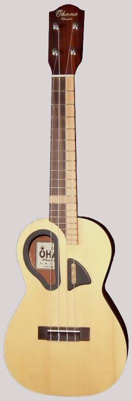 "Ohana CK65D ""D"" hole Acoustic Concert"