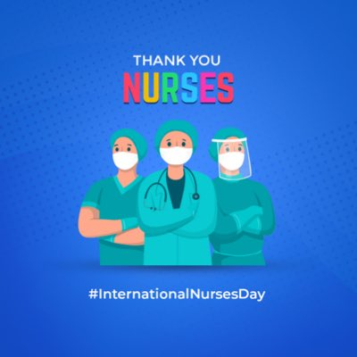 It's a day to celebrate & thank all the Nurses across the world who've been providing care & attention to those unwell & in need. Theyre the silent guardians who make invaluable contributions to the health & safety of people while risking their own lives. #InternationalNursesDay