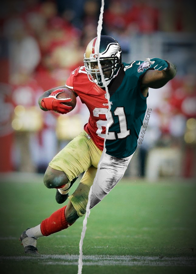 frank gore eagles jersey