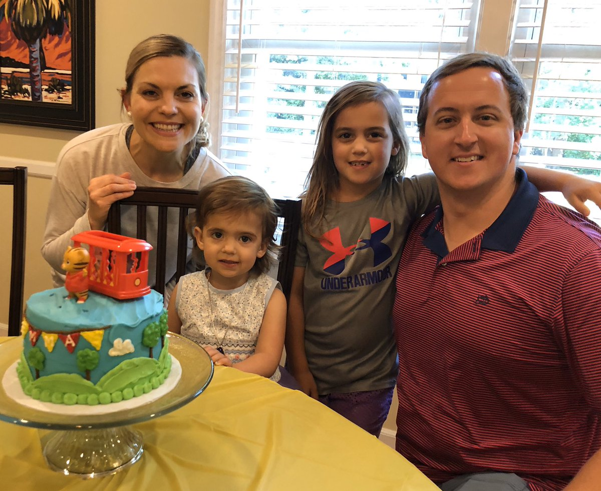 It's not often we get a pic of all of us looking in the general direction of the camera! Happy Birthday Emmy!