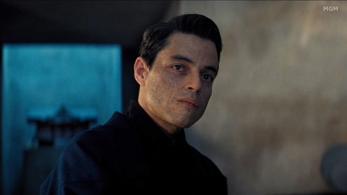 Happy 39th birthday Rami Malek! We hope to see you soon, making life difficult for Mr Bond...