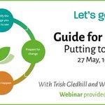 Image for the Tweet beginning: Guide for Leaders Webinar  Date: Wednesday,