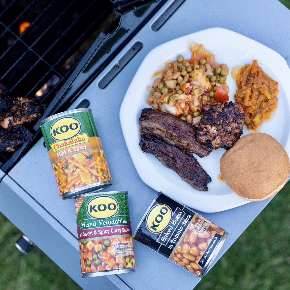 Is it really a braai without amaSides? Braaid meat and KOO chakalaka were meant to be together! What are your favorite Braai sides? #DishUpMoreLove #Sisonke #ad https://t.co/KRyAxhtztz