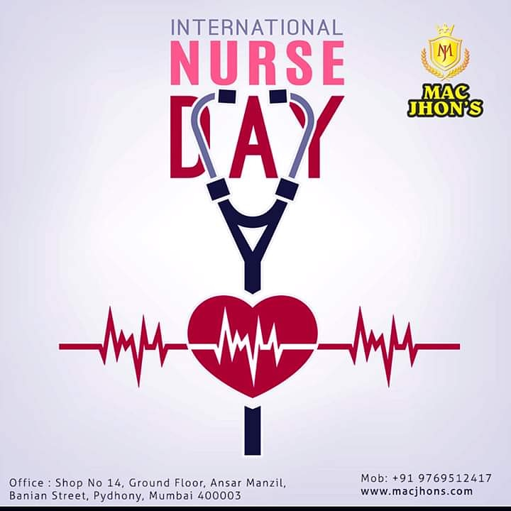Thank you for taking such good care of people in the most difficult days of their life. Thank You for your unconditional services and patience. Happy International Nurses Day #nurseday #nurse #nursesweek #macjhons #nursesrule #nursestudent #nurseproblems #Nurse #NursesDay2020
