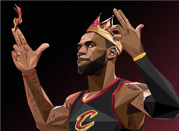 酷斃了!NBA球星經典招牌動作插畫合集,讓你收藏到手軟!