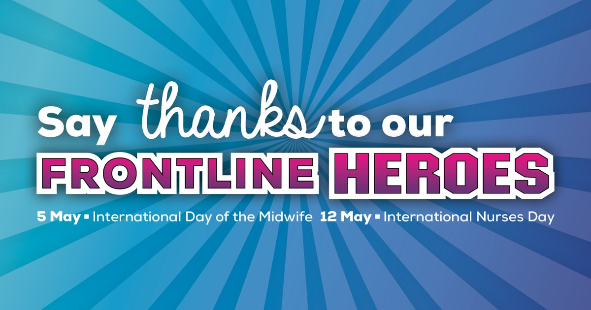 Nurses and midwives may not consider themselves heroes. But if 2020 has shown one thing so far, it's that the work we do to keep our communities safe is truly heroic. Send a #thankyou message to our #FrontlineHeroes this International Nurses Day #IND2020: qnmu.org.au/thankyou