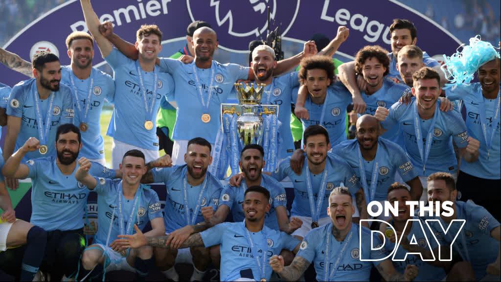 CHAMPIONS! 🏆 ⏰ #OnThisDay 2019 🔵 #ManCity
