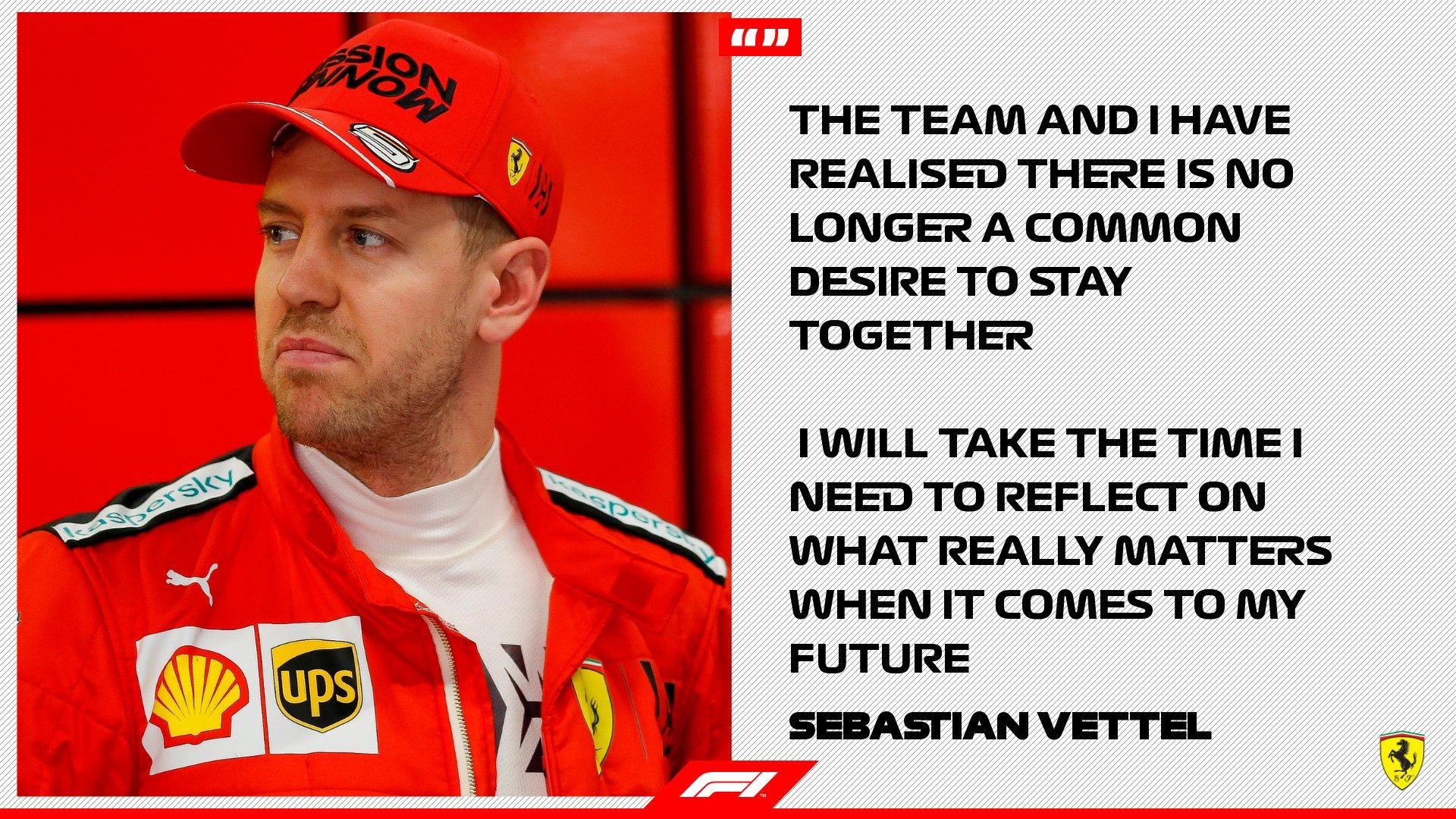 Vettel dejará Ferrari