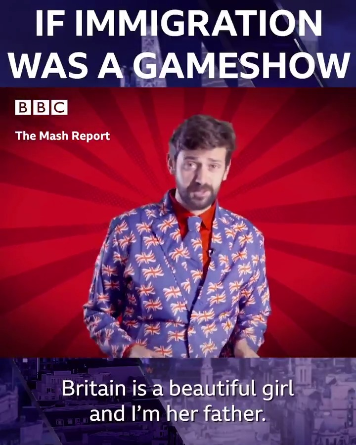 What would it look like if immigration was a gameshow? Hopefully not like this... #TheMashReport