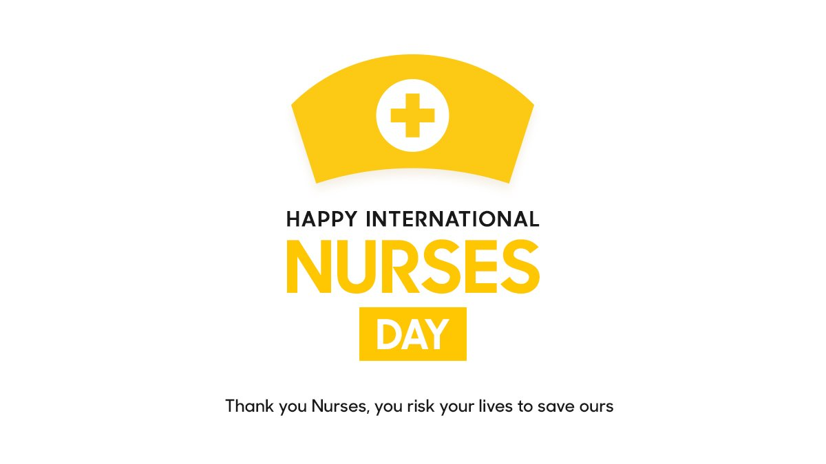 Wishing all the Nurses in this World Happy International Nurses Day ❤️ For your strong contribution in this pandemic situation #COVID19 🙏🙏🙏