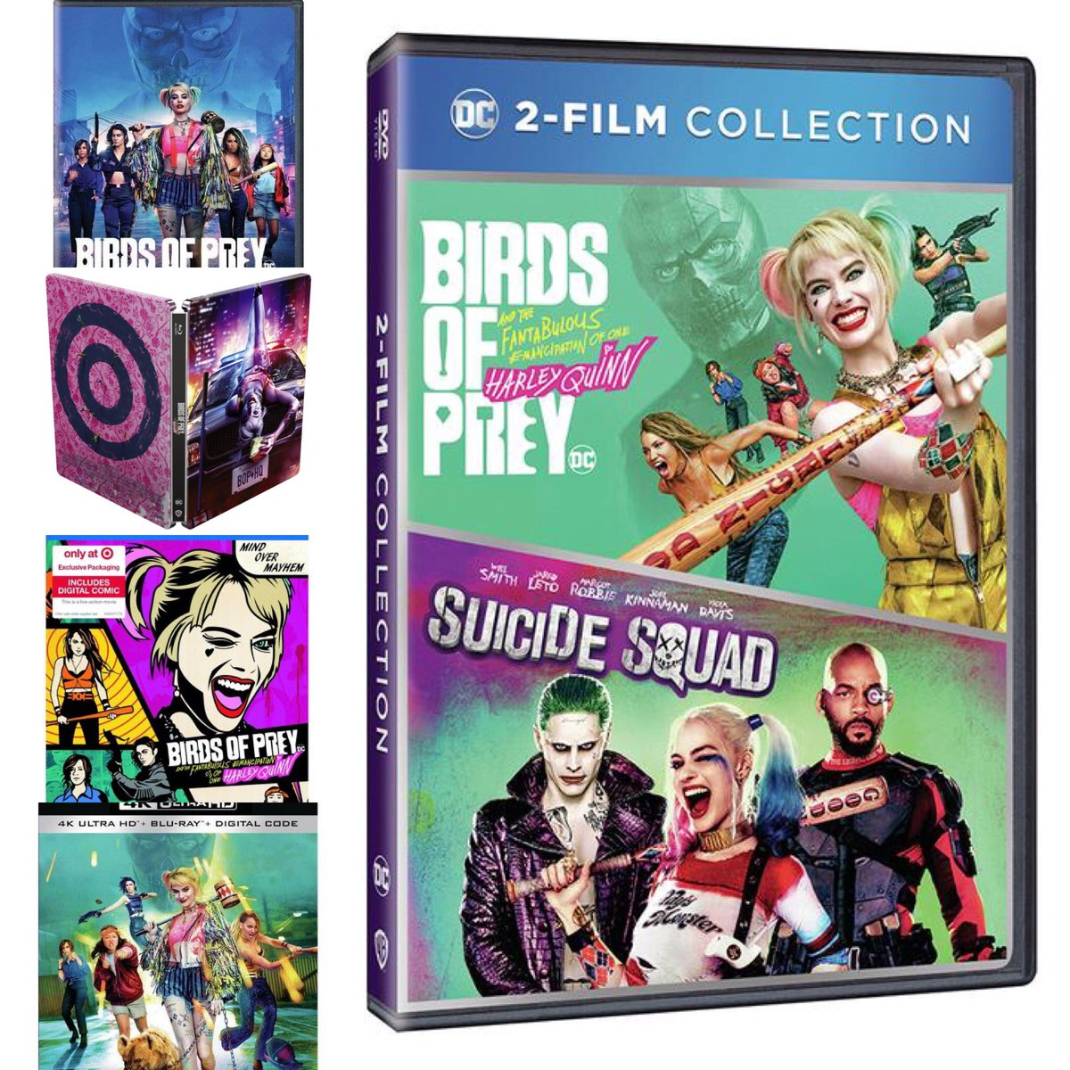 Harley Quinn Updates On Twitter Birds Of Prey Is Now Available On Blu Ray Dvd 4k Ultra With A Suicide Squad Bundle And Exclusive Packaging At Target Best Buy Https T Co Cacqawbit6