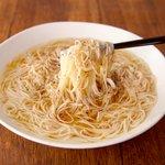 もはや素麺じゃなくラーメン?!素麺で作る「塩ラーメン」のレシピ!