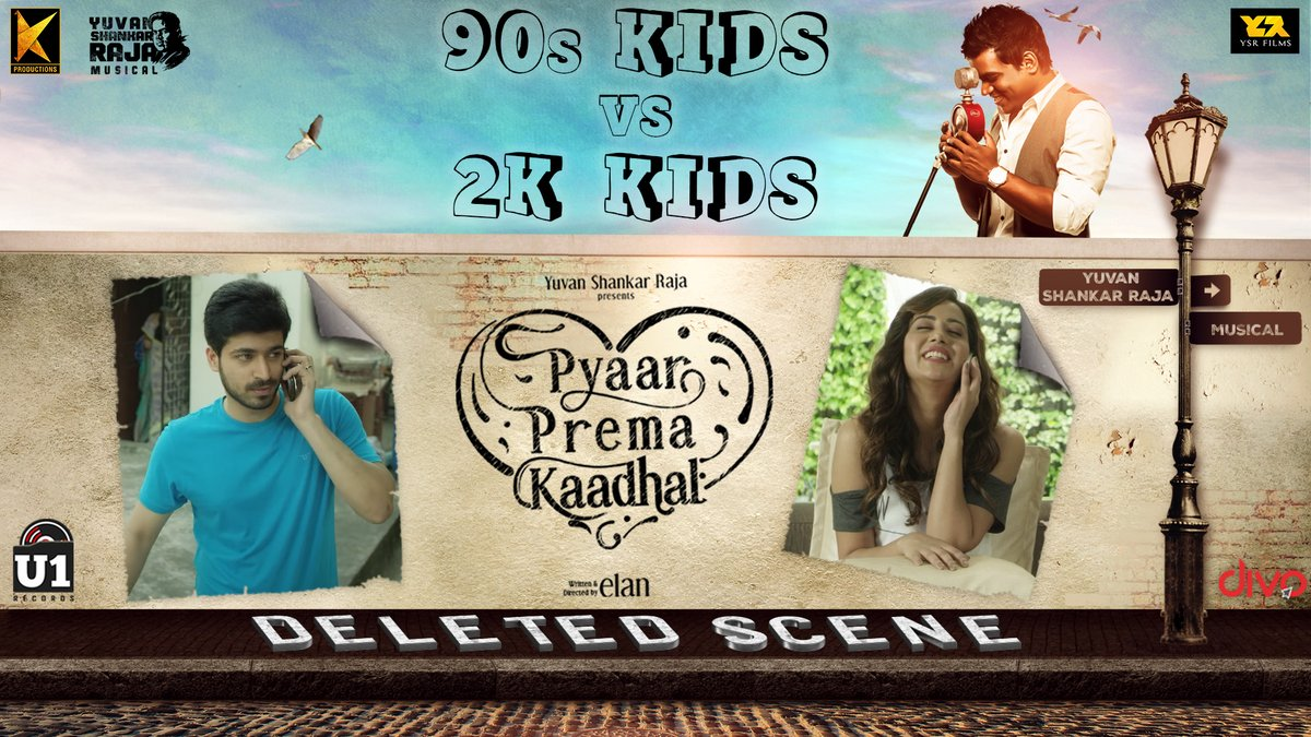'90s Kids VS 2K Kids' - A Deleted Scene from #PyaarPremaKaadhal Out Now on @U1Records   ▶️ https://t.co/hzRxae8Ff9  @iamharishkalyan @raizawilson @thisisysr @elann_t @YSRfilms @divomovies https://t.co/akSaqs6N5h
