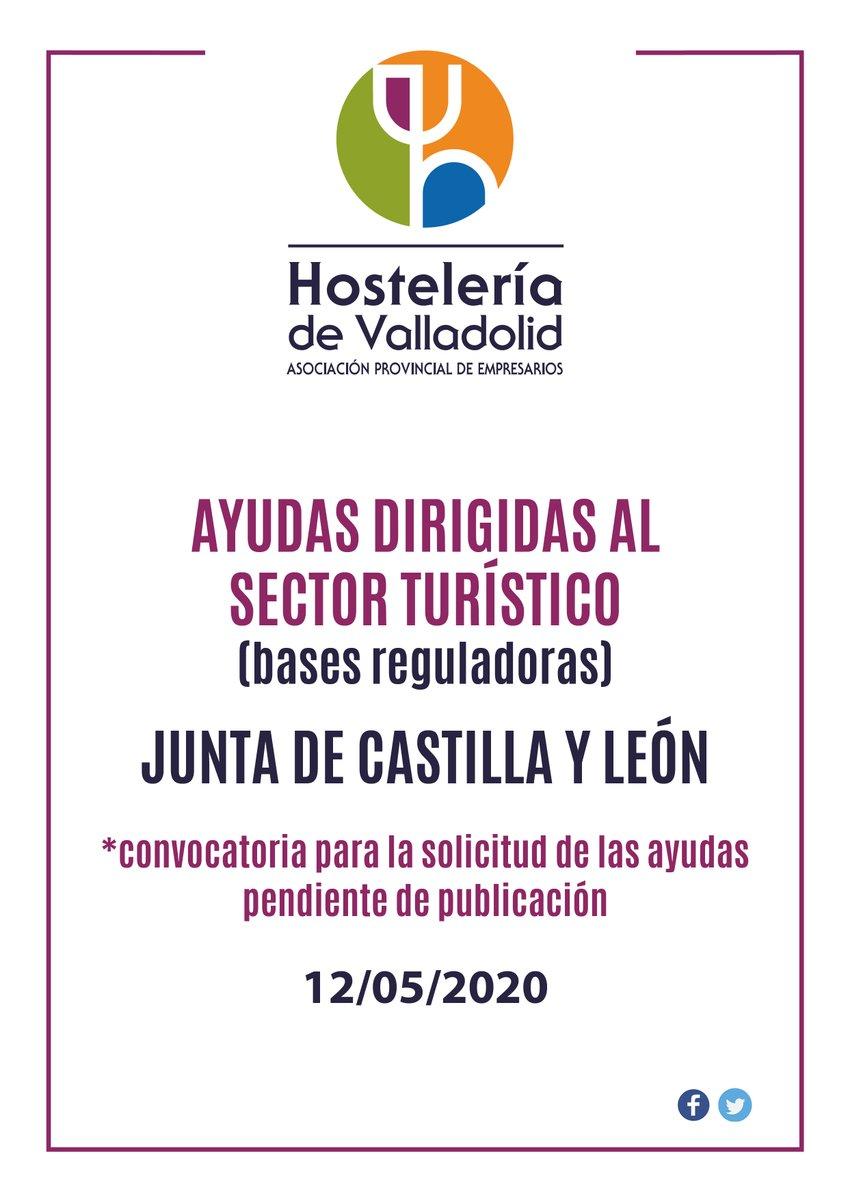 ‼️BASES REGULADORAS de las ayudas dirigidas al sector turístico por la Junta de Castilla y León‼️