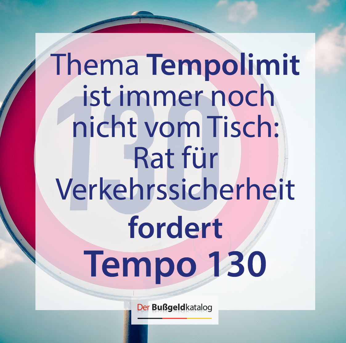 #Tempolimit