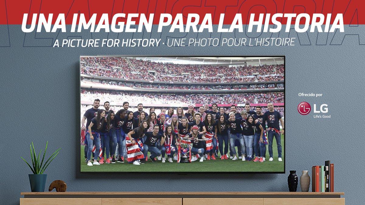 [📚🏧] HISTORIA ROJIBLANCA 🗓️ Tal día como hoy, hace un año, dedicamos el tercer título de Liga consecutivo a todos los atléticos en el Wanda @Metropolitano 🙌  🏧 ¡Un momento mágico! 🤩  🔴⚪ #AúpaAtleti https://t.co/vSrOYF75ig