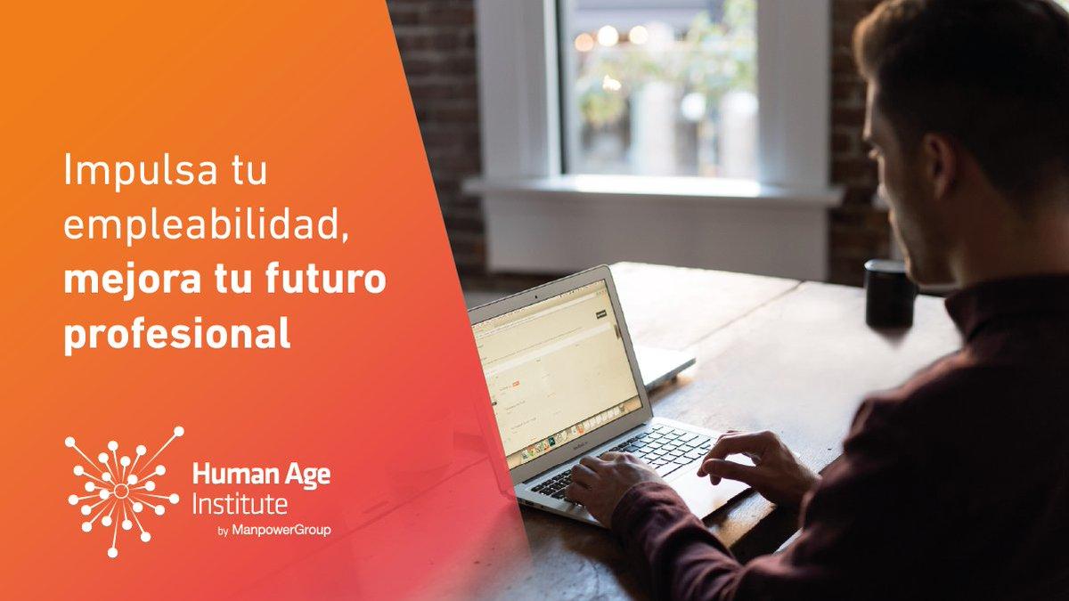 Impulsa tu Empleabilidad, inscríbete en el webinar de Human Age Institute del jueves 14 de #mayo, una #masterclass para que descubras qué te hace brillar. #empleate #TalentMagnet  #futureofwork ¡Inscríbete a través de este enlace: https://bit.ly/2yuclIfpic.twitter.com/vyaAegwcK7
