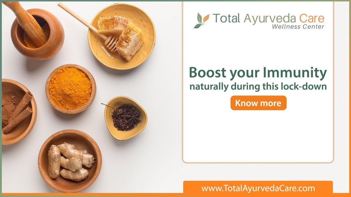 Your kitchen is the starting point for a healthy lifestyle. Curious to learn more? Check this exclusive article by our health experts- https://www.totalayurvedacare.com/blog/the-ayurveda-way-of-life-10-ways-to-boost-immunity/… #ayurvedahealthtips #ayurvediclifestyle #immunitybooster #healthtips #ayurvedicherbs #healthcare #telemedicinepic.twitter.com/4EW9iMgjna