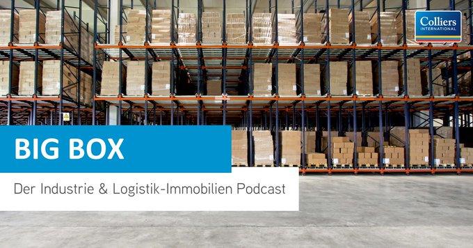 BIG BOX – Folge #3<br></noscript><br>Einblicke in die strukturierte Vermarktung von #Logistik-Flächen: Wie finde ich den richtigen Mieter? Welche Fehler darf ich bei der Vermarktung auf keinen Fall machen?<br>Jetzt reinhören: #podcast t.co/mCyerKQYv5
