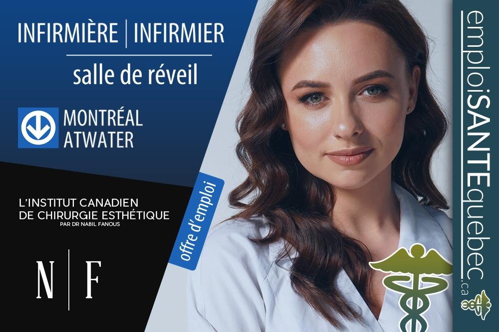 #emploi #Montréal #Infirmier #infirmière L'institut canadien de #chirurgie #esthétique #nurse  détails #emploiSANTEquebec    Besoin de personnels en #santé? emploiSANTEquebec c'est + 26000 membres. Publiez vos offres