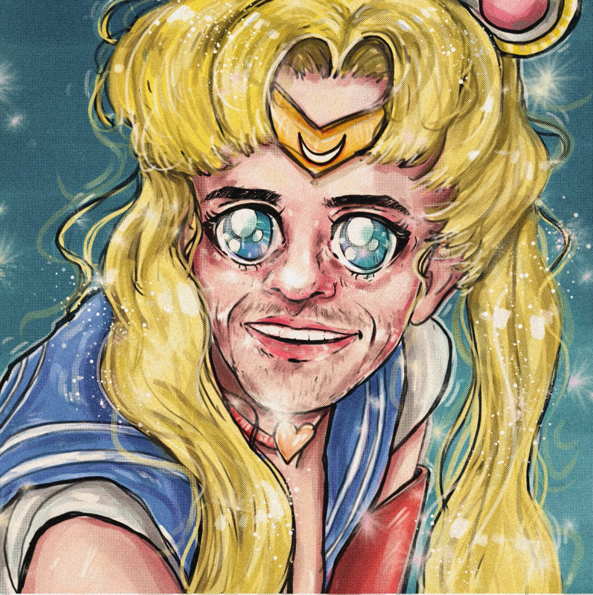 @jacksfilms #YIAYlogo jack when he is sailing the moon, idk i haven't watched sailor moon lol
