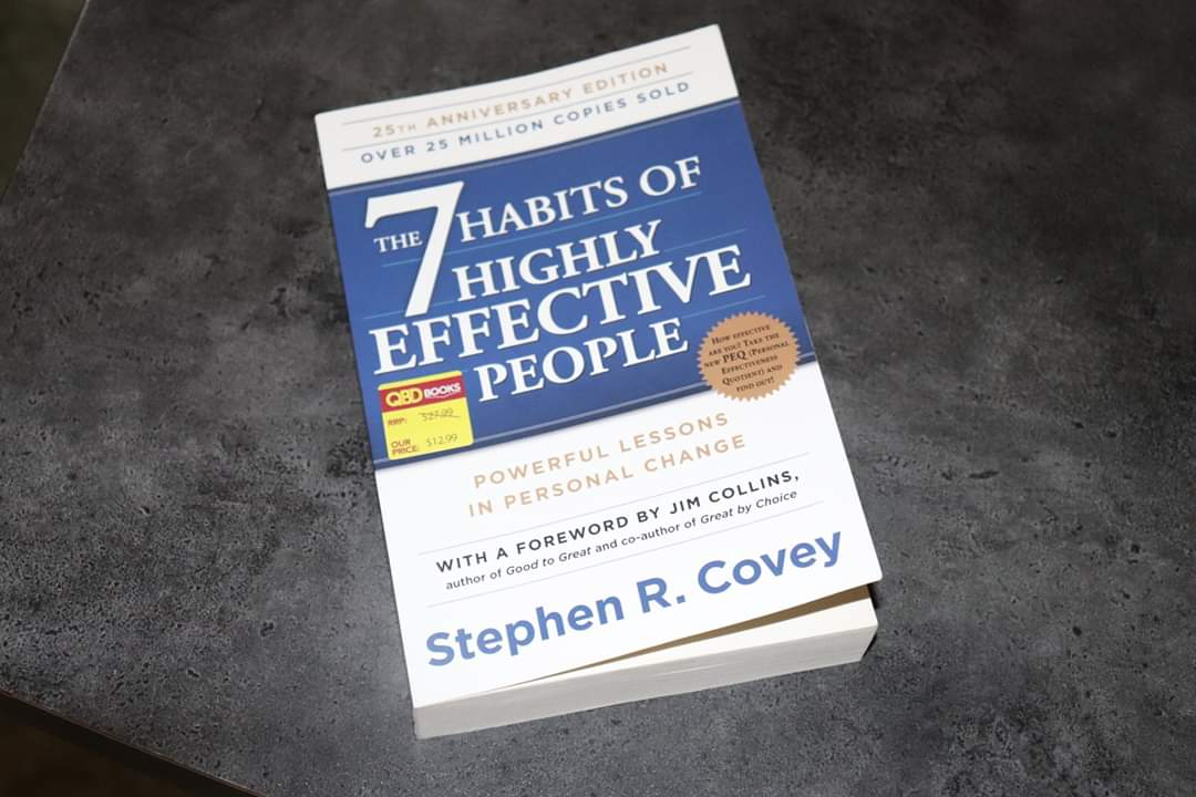 """I have started a """"learning together"""" series of articles. The articles will be entirely based on the book written by Stephen Covey. This book is a Bible on self-help.  The 7 Habits of Highly Effective People https://t.co/eAmKduEecS https://t.co/uixDgtHjY3"""