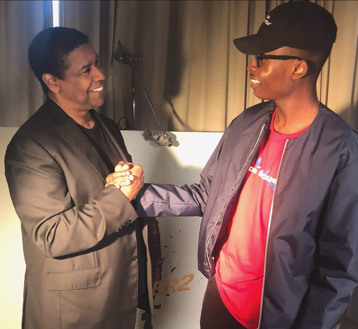 This conversation with Denzel Washington changed my life forever. Whenever I feel isolated or I'm ready to quit, I remember this moment and it puts a fresh fire in my heart. I will never forget his words of wisdom. <br>http://pic.twitter.com/DVup17xcc8
