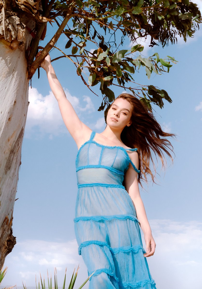 At Home with Hailee Steinfeld *a social distance shoot, by me for v