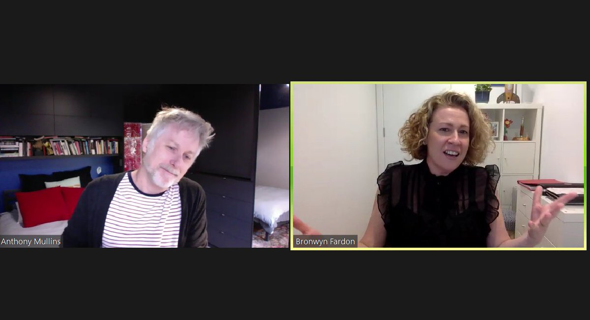 Our webinar is live now with BAFTA and AWGIE award winning screenwriter Anthony Mullins. Jump into Zoom now: https://t.co/4u8eupSdLA https://t.co/zYQQqBtbYR