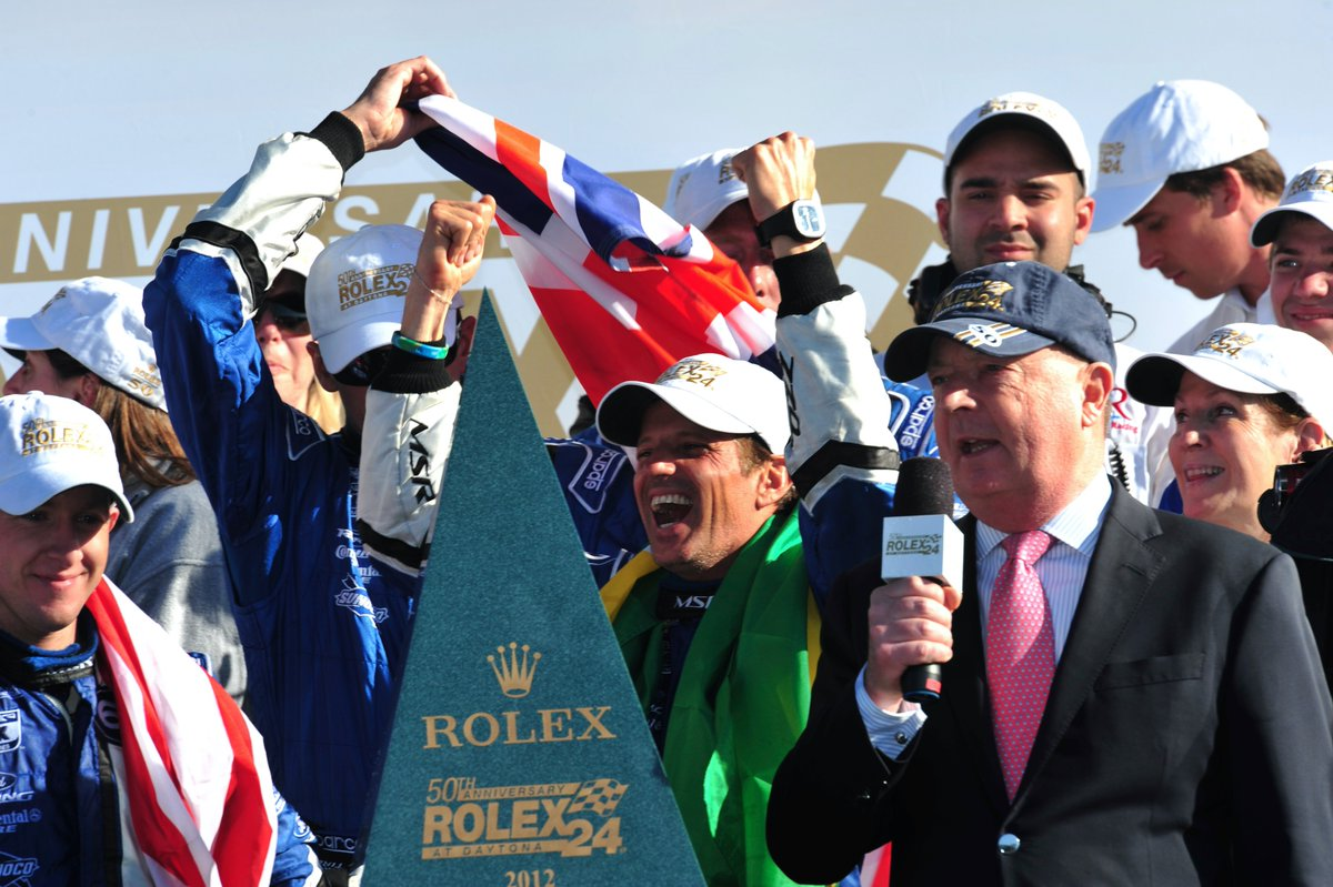 2012: How could we possibly not include the @Rolex24Hours at Daytona victory as one of our favorite @OzzNegri highlights. Ozz co-drove with @AJDinger, @JohnPew1 and Justin Wilson. Hear more about his Rolex win: youtube.com/watch?v=Mrf1IL…