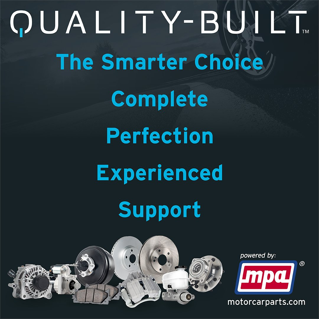 The Smarter Choice + Complete + Perfection + Experience + Support = Quality-Built  Do you have a technical question or need diagnostic help? Contact our tech support center at 800-228-9672.  #MotorcarPartsofAmerica #poweredbyMPA #MPA #autoparts #automotiverepair #qualitybuiltpic.twitter.com/CQeq01Eejf