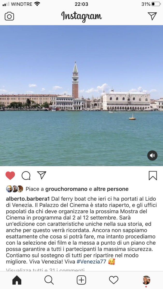 Barbera dixit, viva Venezia pic.twitter.com/HfhFzGQVjK