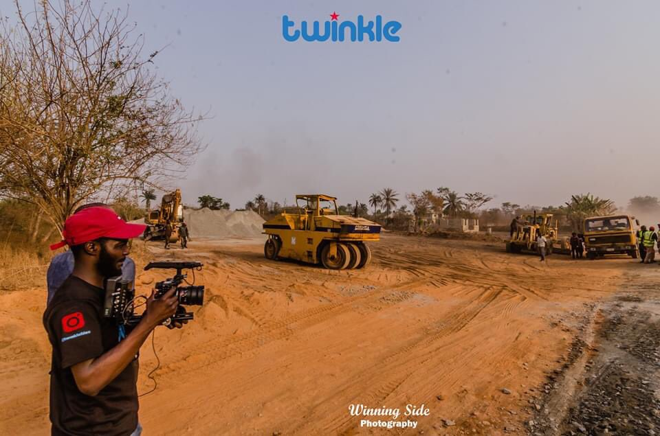 On the Ibadan-Ijaye end, construction site,  #Documentary #filming  Pictures taken on 29 January 2020pic.twitter.com/o4heAQJXST