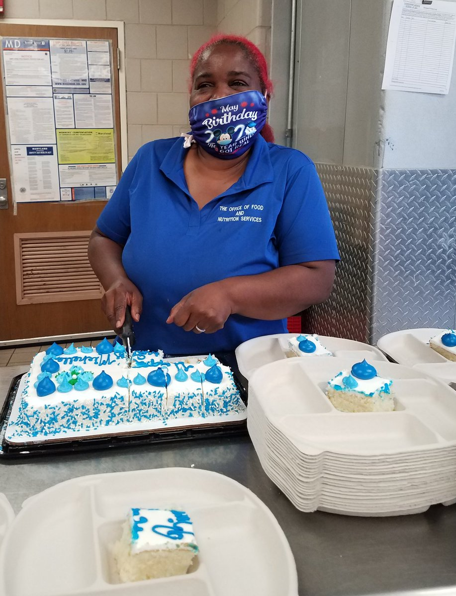 Happy birthday Ms. Michelle, one of our Mobile Meals Heroes!