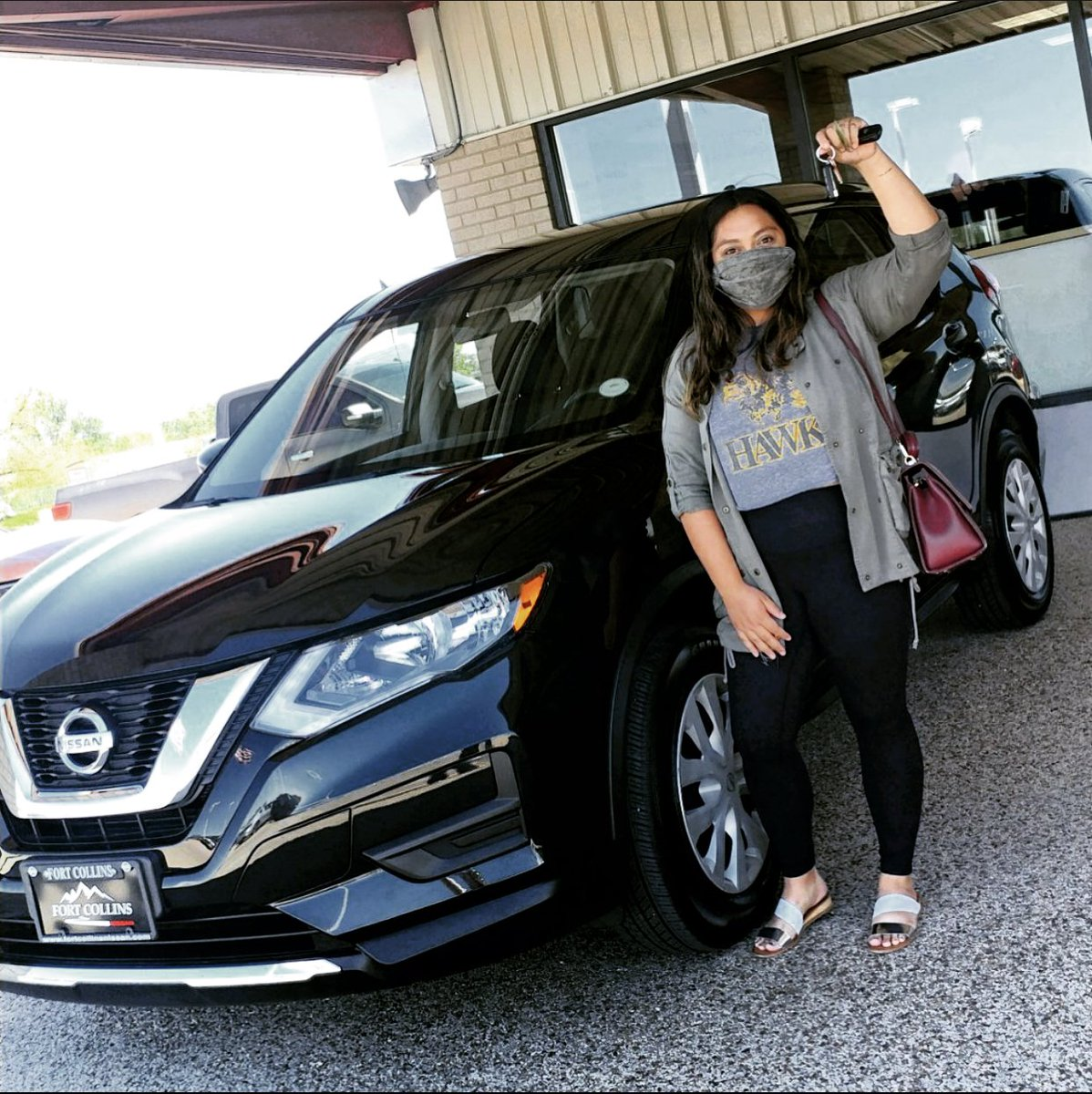 We hope you all had a lovely Memorial Day weekend! Thank you to Evelyn for coming to see us. We hope you're loving your #NissanRogue! We appreciate the opportunity to earn your business and are happy to welcome you to the #FoCo #Nissan family!pic.twitter.com/GKdoVGWkmy