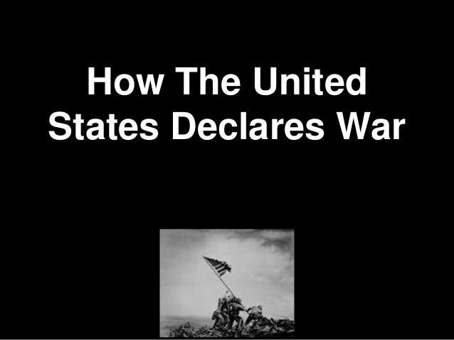 It's been a long time we've actually declared a war. The United States and declaring war  #congress #constitution https://www.slideshare.net/CoolGus/the-united-states-and-declaring-war-206485085 … via @SlideShare #MemorialDay2020 #President #history #militarypic.twitter.com/MZSVRwRPCW