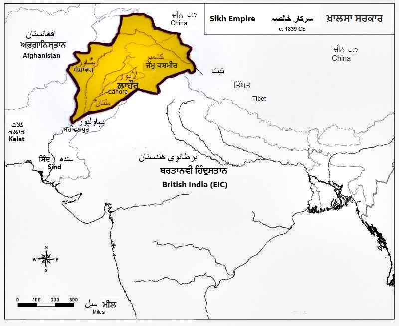 Whenever any Pakistani say Sikhs want Khalistan, show them this pic   This is Sikh Empire of Maharaja Ranjit Singh   Today a Real Sikh just like Many Sikhs in Indian Army just wants this land of Five Rivers to be Reunited with India   #PakistanBanegaIndia cc @TajinderBagga<br>http://pic.twitter.com/hyONFNBW7O