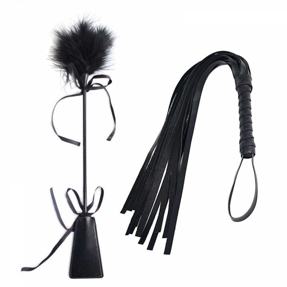 #trends #lingerie Black Faux Leather Whips for BDSM Games