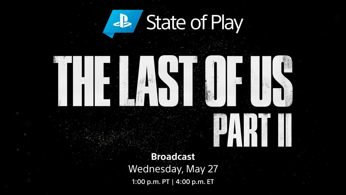 Get a deep dive on The Last of Us Part II. Tune into State of Play Wednesday at 1pm Pacific: https://t.co/3U8XUscGob https://t.co/1KwHHov79q