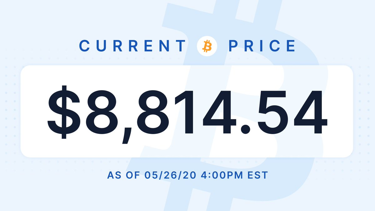 Your daily #bitcoin  price update:<br>http://pic.twitter.com/ihzkq5Xxb7