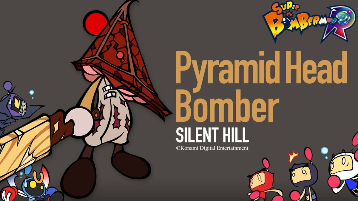 But can he live up to his last appearance? #SilentHill #DeadbyDaylight #bomberman pic.twitter.com/Gnf6XbwmAw