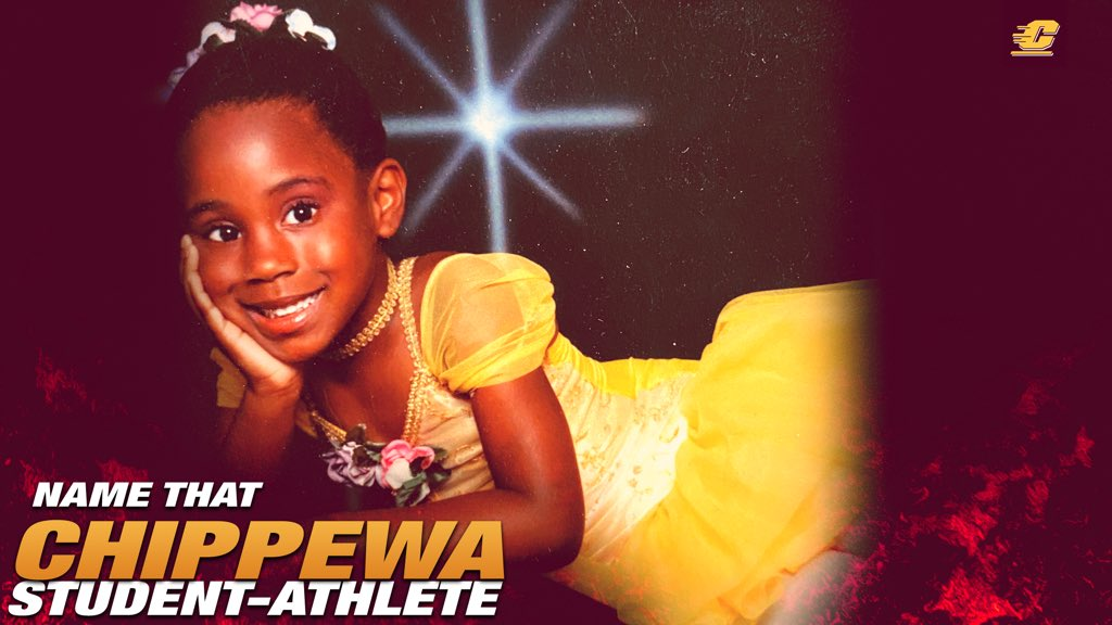 We love the bright smile on this little ballerina. Can you Name That Chippewa Student-Athlete⁉️  Leave your guesses ⬇️ then check back later to see if you were right.   #FireUpChips🔥⬆️