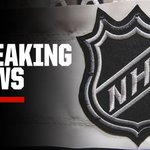 Image for the Tweet beginning: Breaking: The NHL announced Tuesday