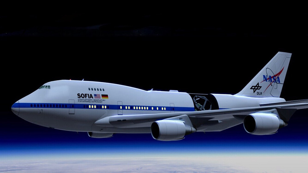 #OTD in 2010, the world's largest flying observatory, @SOFIAtelescope, first peered into the cosmos. 🔭✨ To celebrate a decade of exploration, here are 10 amazing discoveries from the mission: bit.ly/2Tnt5YD