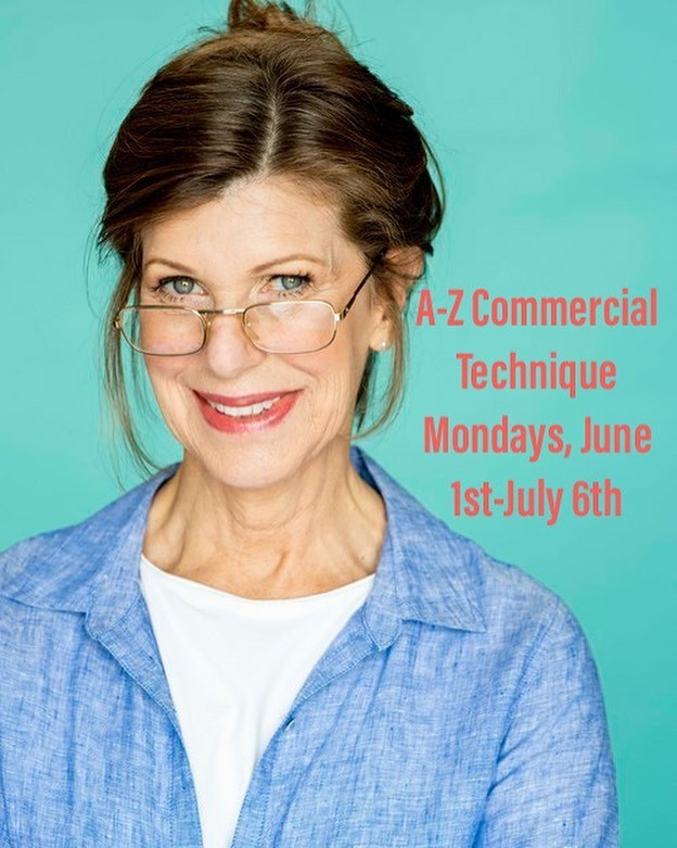 Take an award winning class with Hollywood actress Judy Kain in the comfort of your own home! Our next Zoom Session of A-Z Commercial Technique starts Monday, June 1st!    #actorslife #actor #actress #acting #actingclass #actorsadvice #actingtips